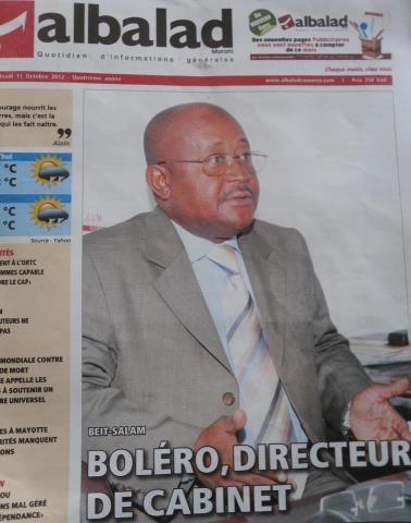 Debat et opinion lettre ouverte au dircab - Monsieur le directeur de cabinet ...